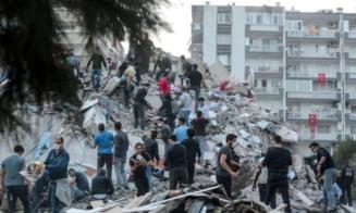 Cutremurul din Turcia: o mama si cei trei copii ai ei au supravietuit 18 ore sub daramaturi
