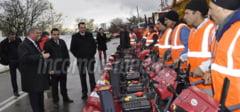 DAMBOVITA: Primaria Targoviste s-a pregatit pentru iarna! Vor fi in strada 227 de muncitori si 103 utilaje. FOTO