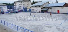 DAMBOVITA: Primaria Voinesti a construit o baza sportiva moderna in doar o luna si jumatate!