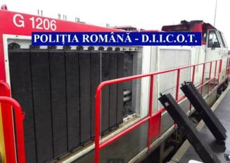 DIICOT a prins o banda de hoti care a jefuit caile ferate franceze de 1 milion de euro (Foto)