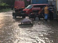 DN1 este blocat de inundatii intre Bucuresti si Ploiesti