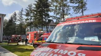 DSP Olt, control dupa incendiul izbucnit la Sectia Psihiatrie a Spitalului Slatina