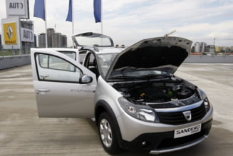 Dacia: Succes in randul bogatilor europeni, esec pe pietele in curs de dezvoltare