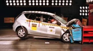 Dacia Duster, cea mai nesigura masina din 2011 - Euro NCAP