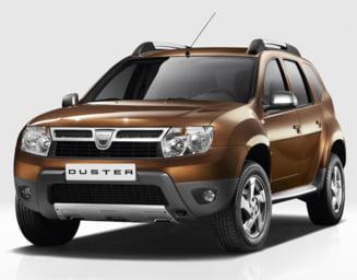 Dacia Duster, printre cele mai bine vandute masini din Rusia