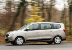 Dacia Lodgy a castigat premiul pentru cea mai buna masina de familie din Franta