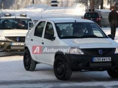 Dacia SUV, spionata in Suedia (Galerie foto)