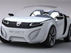 Dacia Shift Concept, Dacia viitorului (Galerie foto + video)