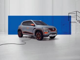 Dacia Spring, primul model 100% electric al producatorului auto de la Mioveni (Galerie foto)