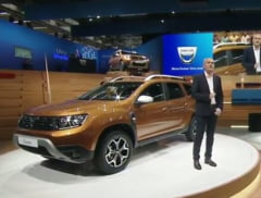 Dacia a prezentat oficial noul Duster (Galerie foto)