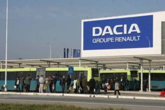 Dacia isi trimite angajatii trei zile in somaj tehnic