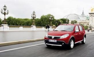 Dacia lanseaza Sandero Stepway pe bioetanol