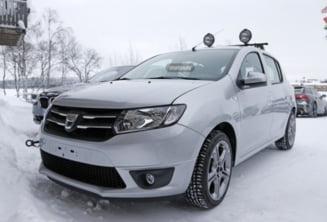 Dacia lanseaza un nou model: Iata primele imagini spion (Galerie foto)