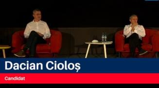 """Dacian Cioloș, după ce a fost acuzat de Dan Barna că e """"omul sistemului"""": """"Aș vorbi mai degrabă de sistemul intern de partid, forțat și condus fix de cei care mă acuză"""""""