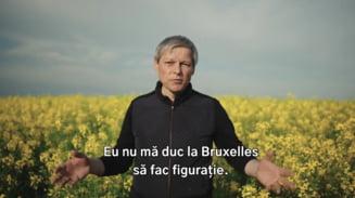 Dacian Ciolos: Eu nu ma duc la Bruxelles sa fac figuratie. O sa fiu romanul care decide pentru Europa