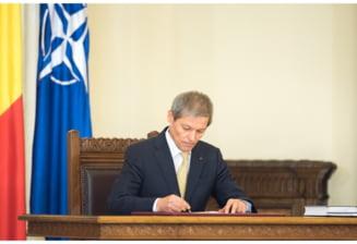 Dacian Ciolos: Guvernul are instrumente directe, putem face schimbari pe care nu le vrea clasa politica