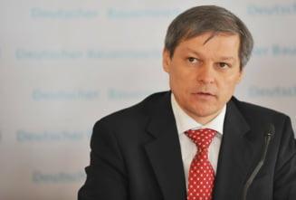 Dacian Ciolos, discutii la Guvern despre bugetul pe anul 2016