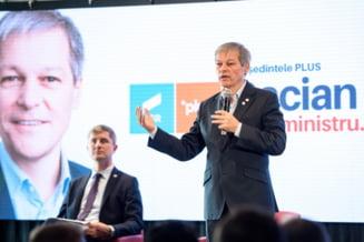 """Dacian Ciolos, raspuns dur pentru Florin Citu: """"Un prim-ministru nu face evaluari ale ministrilor noaptea in somn si dimineata ii demite"""""""