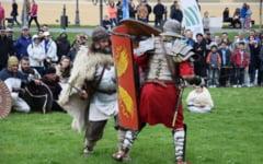 Dacii si romanii se vor lupta la Buzau, saptamana viitoare, printre copacii din Parcul Crang