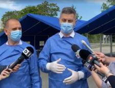 """Dan Barna, voluntar la un centru de vaccinare: """"Sunt zone unde primarii nu s-au implicat si acolo nu sunt rezultate spectaculoase"""" VIDEO"""