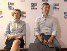 Dan Barna raspunde atacurilor lui Cosette Chichirau intr-o conferinta de presa comuna