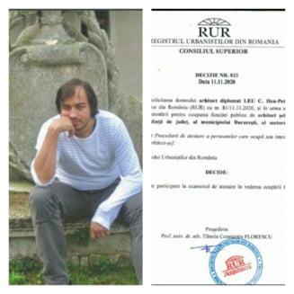 Dan Leu, viitorul ARHITECT sef al Primariei Municipiului Constanta