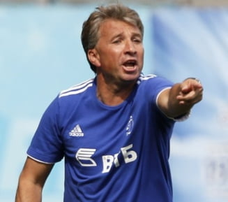 Dan Petrescu, furat in derbiul cu Lokomotiv Moscova