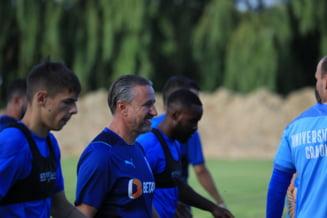 Dan Petrescu, la prima victorie ca antrenor pentru CFR Cluj! Ardelenii câștigă derby-ul cu oltenii de la Universitatea Craiova