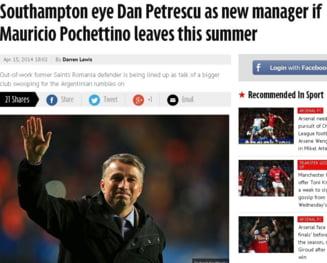 Dan Petrescu, la un pas de Premier League: Anuntul presei engleze