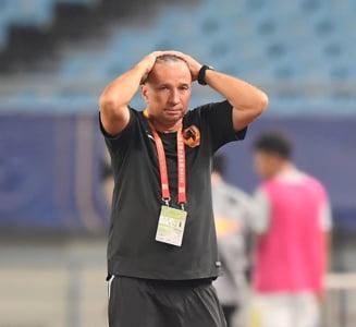 Dan Petrescu a plecat din China - presa