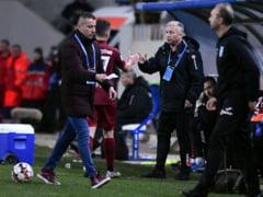 """Dan Petrescu a rabufnit dupa victoria lui CFR Cluj in derbiul cu Craiova: """"Muncim ca prostii si ni se iau punctele"""""""
