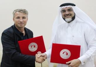Dan Petrescu i-a lasat fara cuvinte pe seicii din Qatar