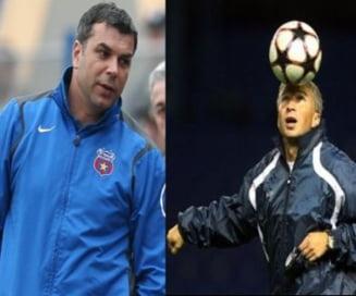 Dan Petrescu si Olaroiu, favoriti pentru a prelua Steaua