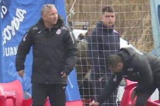 Dan Petrescu si-a iesit din minti la amicalul jucat sambata de CFR Cluj