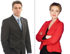 Dana Grecu si Mircea Badea prezinta stirile la Antena 3