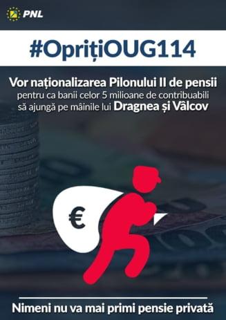 Danca (PNL): Pilonul II de pensii e distrus la lumina zilei de un guvern de infractori, cu precizia unor hoti profesionisti