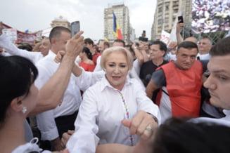 Dancila: Cred cu tarie in nevinovatia lui Dragnea. Premierul acuza ca Romania nu e stat de drept