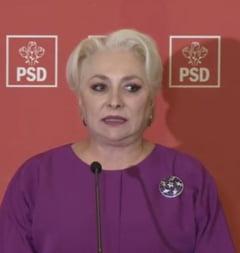 """Dancila, la finalul sedintei CEx: """"Am hotarat continuarea guvernarii PSD-ALDE"""". Ce spune despre negocierile cu Ponta si Tariceanu"""