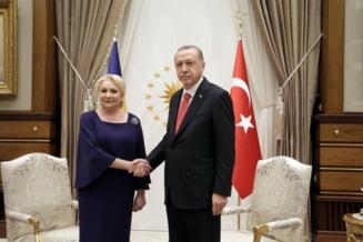 Dancila, vizita cu peripetii si in Turcia. Ce i-a zis Erdogan ca asteapta de la Romania (Foto & Video)
