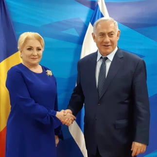 Dancila a pus Romania la dispozitia lui Netanyahu, dar cine vrea o marfa atat de ieftina?