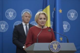 Dancila anunta ca bancile vor fi impozitate daca ROBOR trece de 2%, Teodorovici anuntase 1,5%
