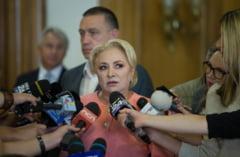 Dancila e convinsa ca PSD va obtine un scor bun la prezidentiale in Sibiu, desi la europene a luat sub 10%