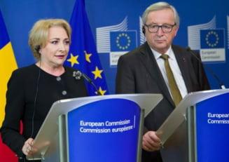 """Dancila ii cere socoteala lui Juncker despre """"lista lui Gadea"""", publicata initial de Adrian Nastase"""