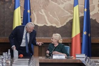 Dancila se lauda ca PSD are inca majoritate, dupa ce Melescanu a ajuns sef la Senat cu repetarea votului