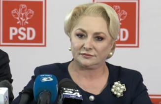 Dancila se va intalni cu Tariceanu sa discute despre candidatura la Cotroceni. Ce mesaj are pentru protestatari