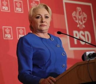 Dancila sustine ca Opozitia nu are voturi pentru motiunea de cenzura si se teme de guvernare, si ii cere lui Iohannis sa numeasca ministrii interimari