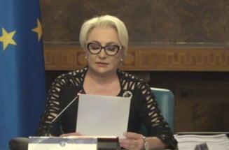 Dancila sustine ca i-a cerut sefei CE un post important de comisar pentru Romania: La Transporturi sau Energie
