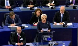 Dancila sustine in PE ca, fara Legile Justitiei, Parchetul se intoarce in era sovietica: MCV si-a ratat menirea! (Video)