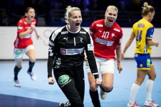 Danemarca trece dramatic de Suedia la Campionatul European de handbal, dupa consultarea arbitrajului VIDEO. Rezultatele complete de vineri