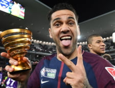 Dani Alves a intrat in cartea de istorie a fotbalului dupa un nou trofeu bifat in Franta